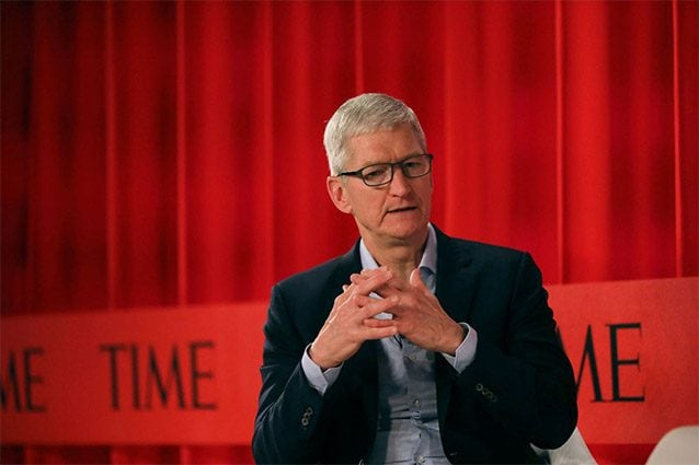 tim cook time 100 2019