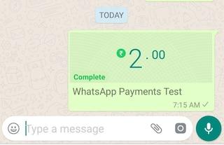 Su WhatsApp potrai inviare soldi agli amici