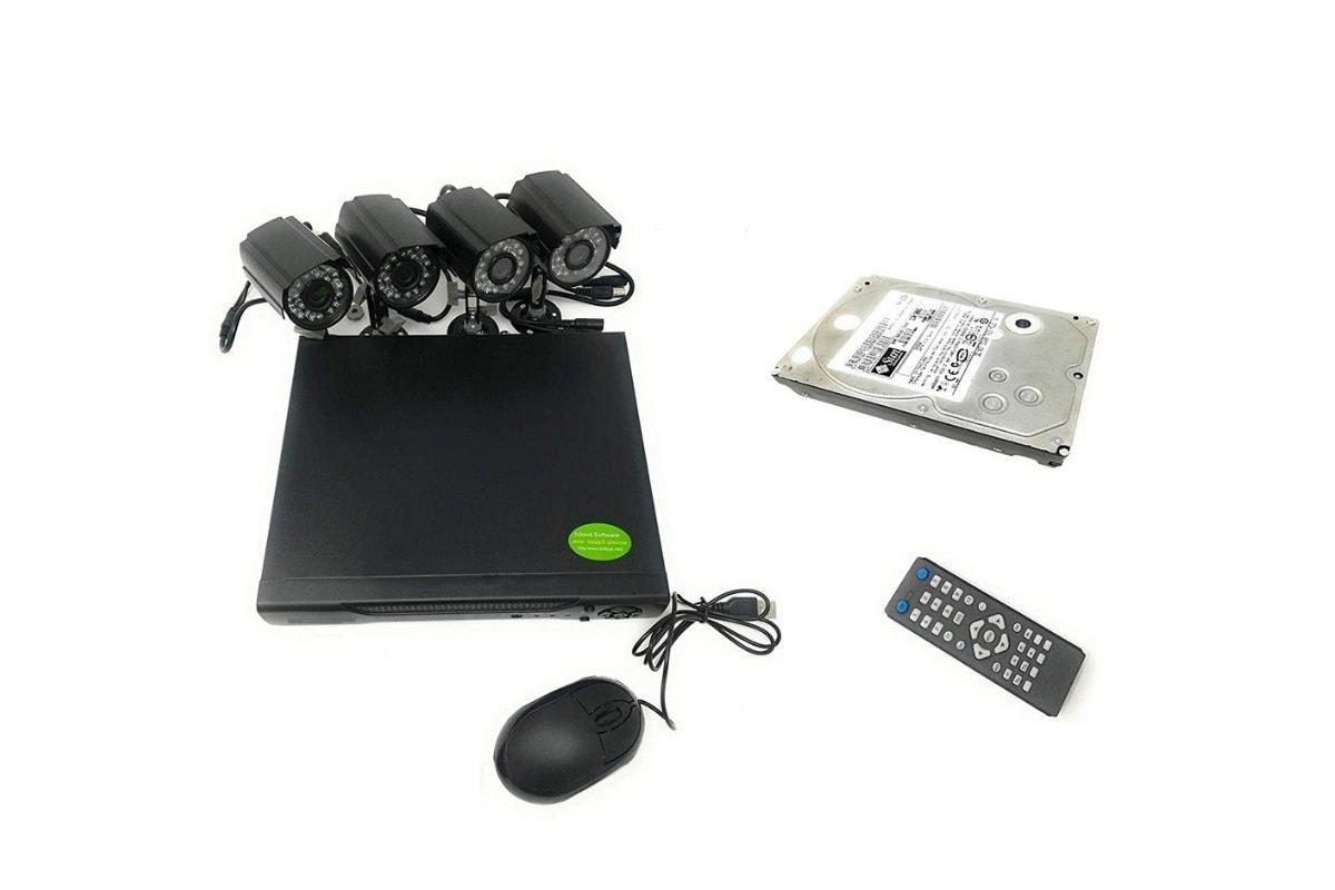 4. Kit di videosorveglianza Allarmshop