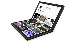 Anche il PC ha lo schermo pieghevole: Lenovo ha presentato il primo