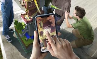 Ecco Minecraft Earth, il gioco in realtà aumentata che sfida Pokémon GO