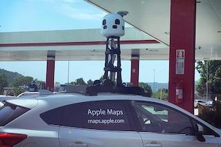 Apple Mappe, in giro per l'Italia le auto di Apple per fotografare le città: dove saranno e quando