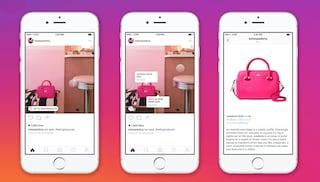 Su Instagram c'è una vetrina per acquistare i prodotti, ma attenzione ai falsi
