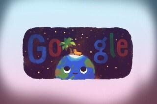 Stagione estiva, il primo giorno d'estate nel nuovo Doodle di Google