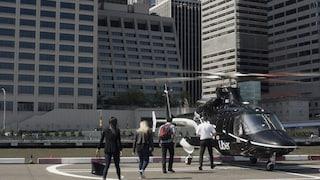 Nei cieli di New York decollano gli elicotteri di Uber Copter: il servizio attivo da luglio