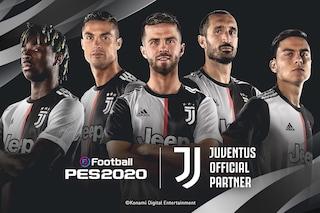 eFootball PES 2020 avrà l'esclusiva sulla Juventus (che non sarà in FIFA 20)