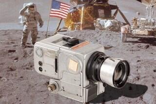 Hasselblad e Luna: la storia della fotocamera usata per fotografare lo sbarco
