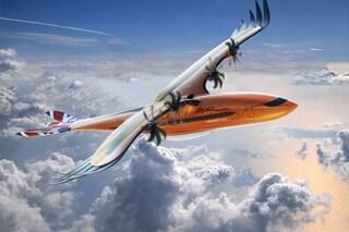 Ecco l'aereo del futuro: è di Airbus ed è a forma di aquila