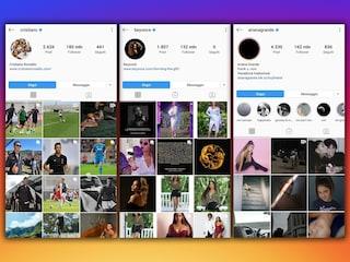 Instagram, quanto valgono i profili degli account più seguiti