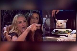 La storia di Woman Yelling at a Cat, il meme con la donna che urla al gatto a tavola