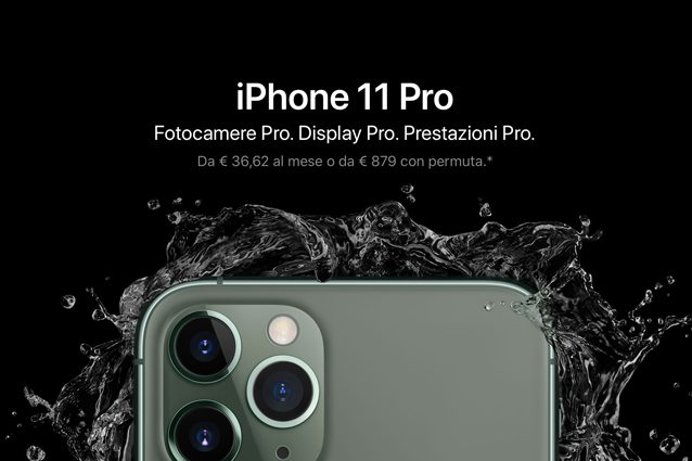 iPhone 11 pro rate apple permuta