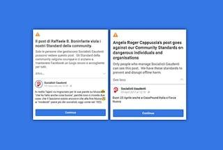 Facebook ha sospeso la pagina di satira politica Socialisti Gaudenti