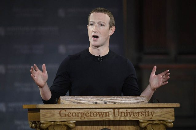 Zuckerberg Georgetown