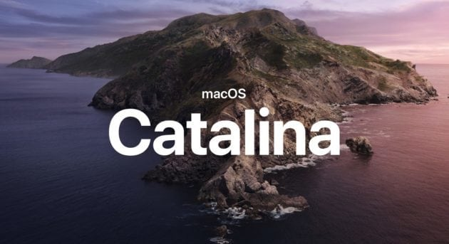 macOS Catalina 10.15 disponibile