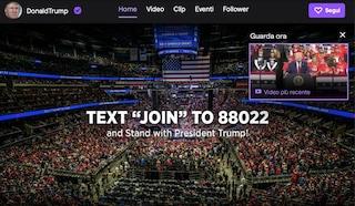 Dopo aver criticato Jeff Bezos, Donald Trump ha aperto un canale su Twitch (che è di Amazon)