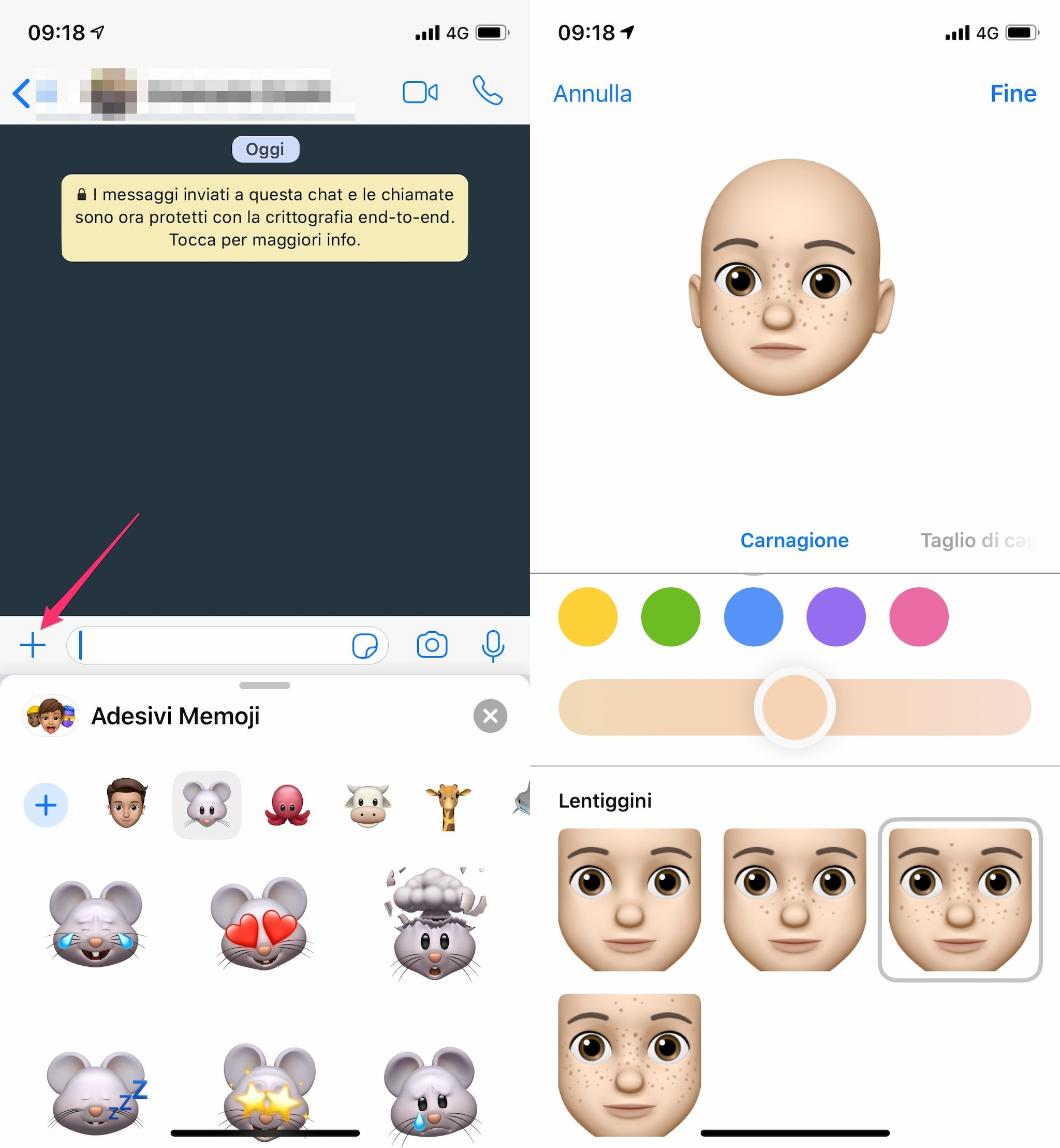 sticker memoji whatsapp