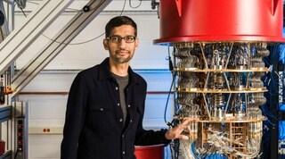 """Sundar Pichai, CEO di Google: """"Con il calcolo quantistico capiremo i cambiamenti climatici"""""""