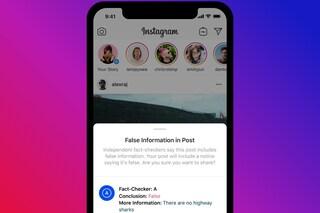 Instagram sta per contrassegnare e nascondere le fake news