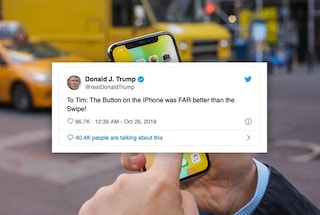 Donald Trump ha dato un consiglio di design a Tim Cook