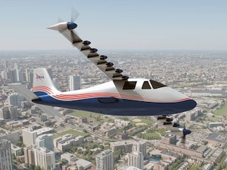 La NASA ha svelato pubblicamente l'aereo elettrico X-57 Maxwell