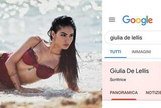 Perché su Google Giulia De Lellis è definita una scrittrice