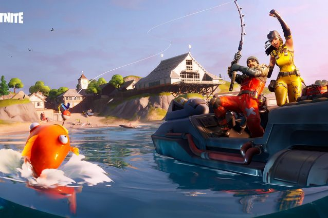 fortnite pesca scatenata