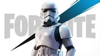 Su Fortnite è arrivata la skin dello Stormtrooper di Star Wars