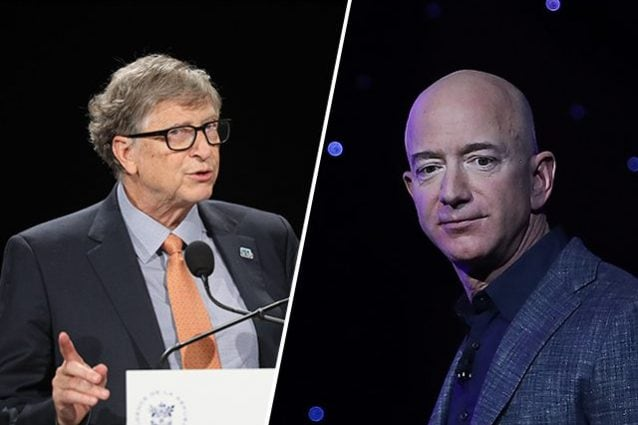Bill Gates supera Jeff Bezos come persona più ricca del pianeta