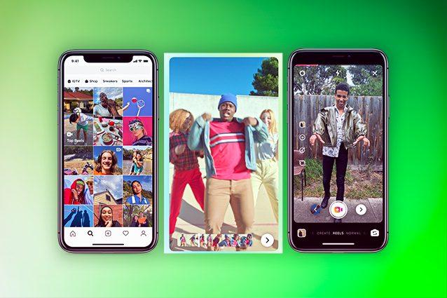 instagram reels clips italia tiktok editing video data come funziona