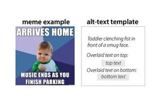 Questa tecnologia traduce i meme per i non vedenti