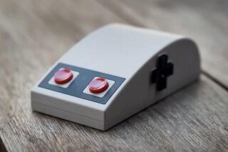 Questo mouse è ispirato al controller del leggendario Nintendo NES