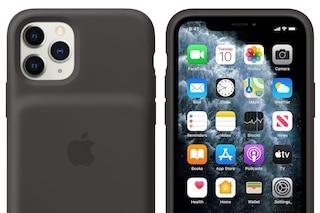 Le custodie con batteria degli iPhone 11 hanno un tasto dedicato alla fotocamera