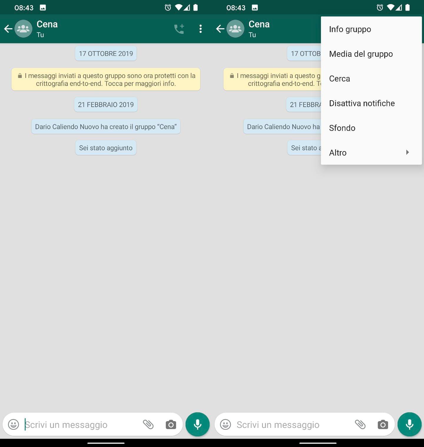 bug dark mode tema scuro whatsapp attivare trucco