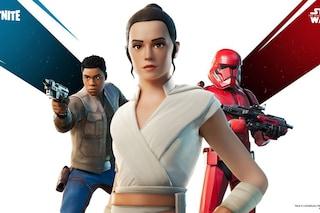 Fortnite celebra Star Wars: ora potete giocare nei panni di Rey e Finn