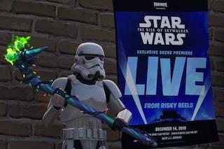 Dentro Fortnite aprirà un cinema (con una scena inedita del nuovo Star Wars)