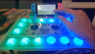 La figlia disabile non può giocare a Zelda, il papà realizza un controller speciale