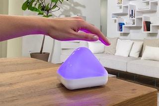 Dice, la lampada intelligente Made in Italy per controllare i consumi e la qualità dell'aria