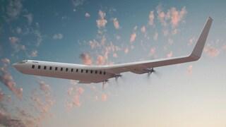 Questo aereo vola a energia elettrica grazie a batterie e pannelli solari
