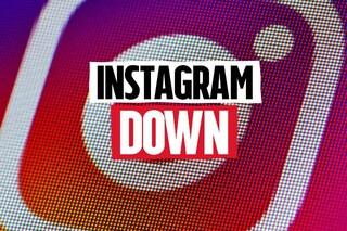 Instagram down, il social network di condivisione delle immagini non funziona