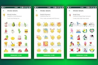Ecco come saranno gli adesivi animati di WhatsApp