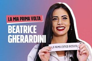"""La prima volta di Beatrice Gherardini: """"Su TikTok ci si sente ripagati per quello che si fa"""""""