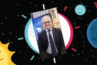 Il ministro Roberto Gualtieri per la prima volta su TikTok sul profilo di Fanpage.it