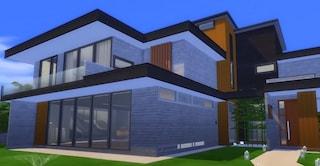 Un architetto ha ricreato la villa di Parasite in The Sims 4