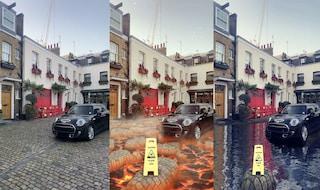 Gli incredibili filtri di Snapchat per trasformare il pavimento in lava e acqua