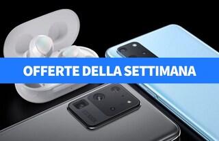 Samsung Galaxy Buds+ gratis e sconti fino al 50% su telefonia e informatica