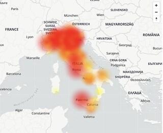 Tim Down: problemi alla linea dell'operatore telefonico in tutta Italia