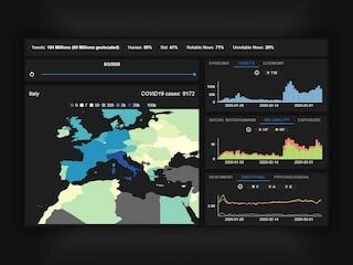 Questa mappa interattiva mostra l'epidemia di disinformazione sul coronavirus