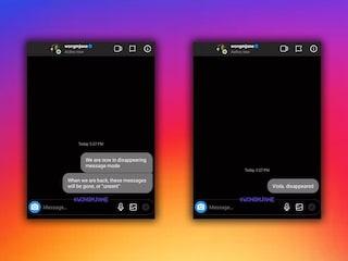 Su Instagram stanno arrivando i messaggi che si eliminano da soli