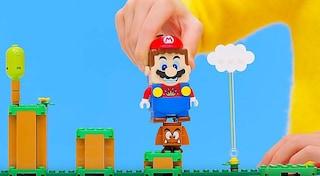 Super Mario diventa un set LEGO interattivo: ecco com'è