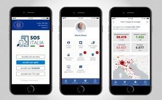 SOS Italia, l'app per contenere e contrastare il coronavirus in Italia